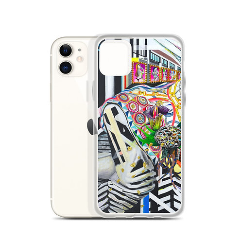 "Kahori Kamiya ""Hypno Cell 1"" (iPhone Case)"