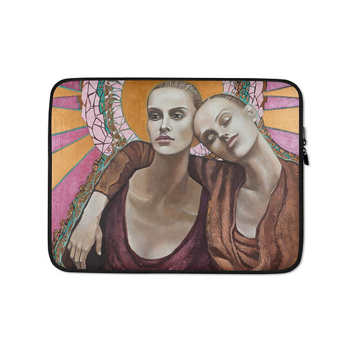 "Karla Gallagher ""The Absence of Time"" (Laptop Case)"