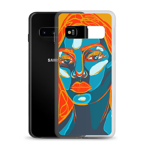 Fire and Ice (Samsung Case) by Kasey Burkhart