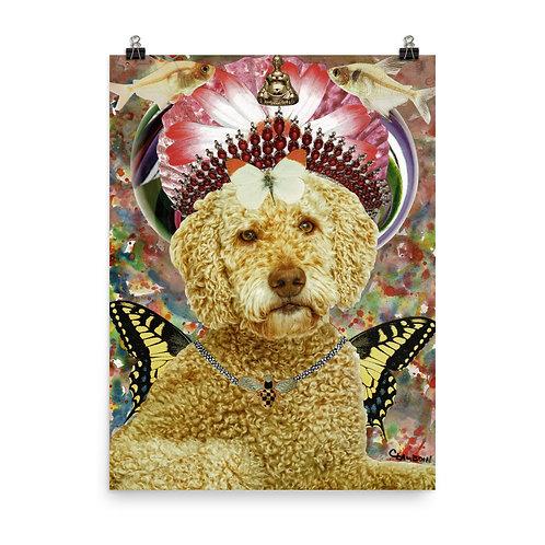 """Claudia Lambdin/Ahjnae Collage """"Goldendoodle"""""""
