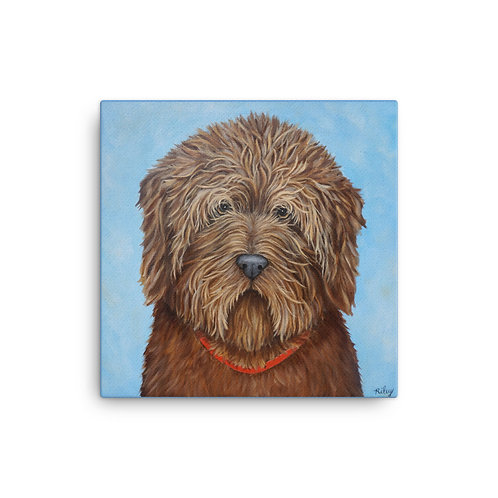 Dewey (Canvas Giclee) by Riley Fitzgerald
