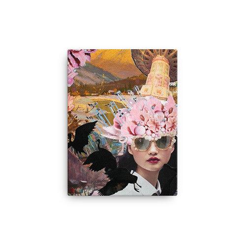 "Rachel Newell ""Whimsy Whirlwind"" (Canvas Giclee)"