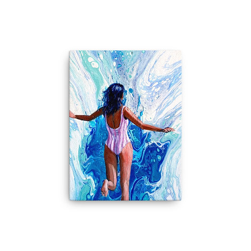 """Angela Lubinecky """"Dreaming of Diani Beach"""" (Canvas Giclee)"""