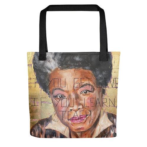 Maya Angelou Tote bag