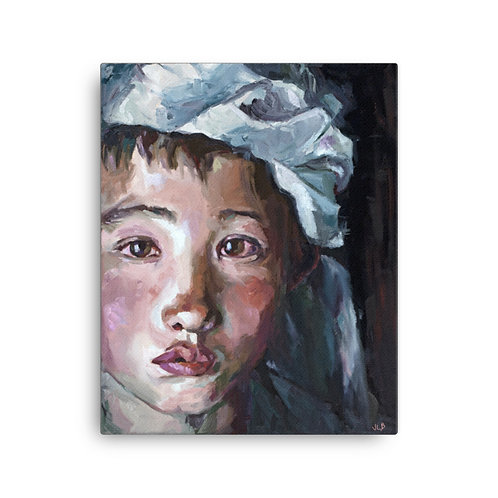 "Those Eyes (16""x20"" Canvas Giclee) by Jennifer Lynn Beaudet"