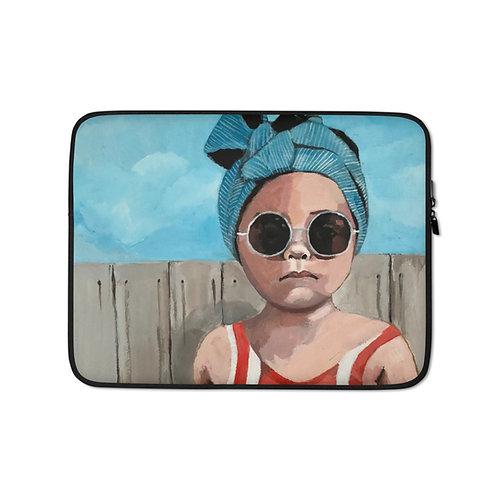 "Sabrina Cabada ""Swim Baby"" (Laptop Case)"