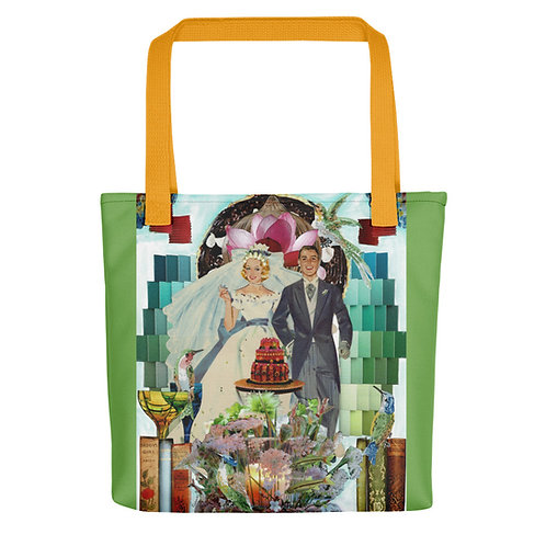 "Claudia Lambdin/Ahjnae Collage ""Celebrate"" (Tote bag)"