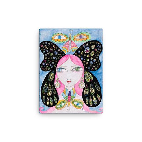 "Jennifer Betlazar ""Butterfly Girl"" (Canvas Giclee)"