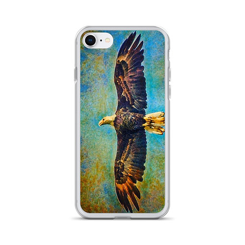 Eagles Flight on the Occoquan (iPhone Case) by Diane Poole