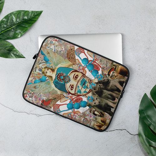 "Claudia Lambdin/Ahjnae Collage ""Healthcare Angel"" (Laptop Sleeve)"