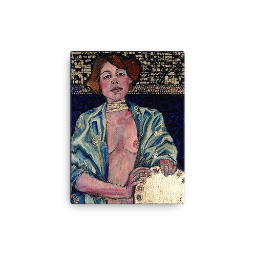 "Iris van Zanten ""Topaz Judith"" (Canvas Giclee)"