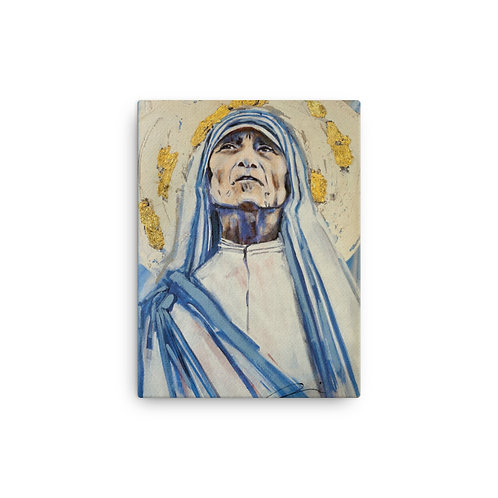 Mother Teresa (Canvas Giclee) by Angie Meche Kilcullen