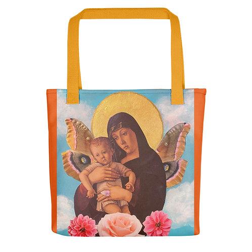 """Sarah Renzi Sanders """"Moth Madonna"""" (Tote Bag)"""