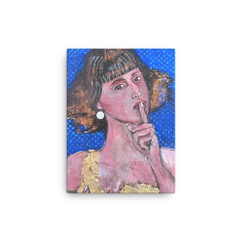 "Lost in Translation (12""x16"" Canvas Giclee) by Iris van Zanten"
