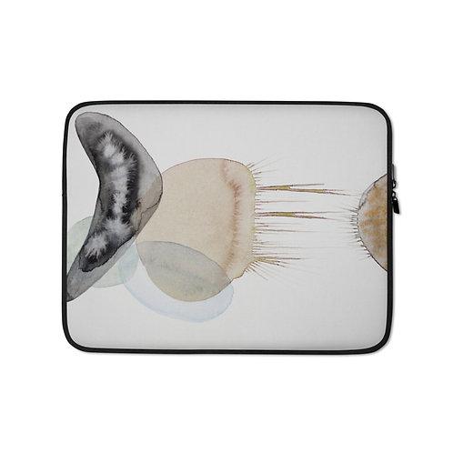 Meduse (Laptop Case) by Emmanuelle Gaudillat