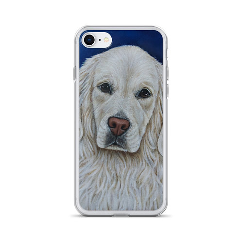 English Cream (iPhone Case) by Riley Fitzgerald