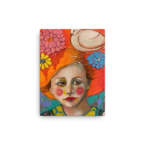 "Lola Burgos ""I Will Care for You"" (Canvas Giclee)"