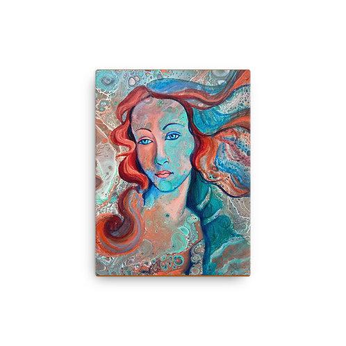 "Angela Lubinecky ""Emerald Venus"" (Canvas Giclee)"