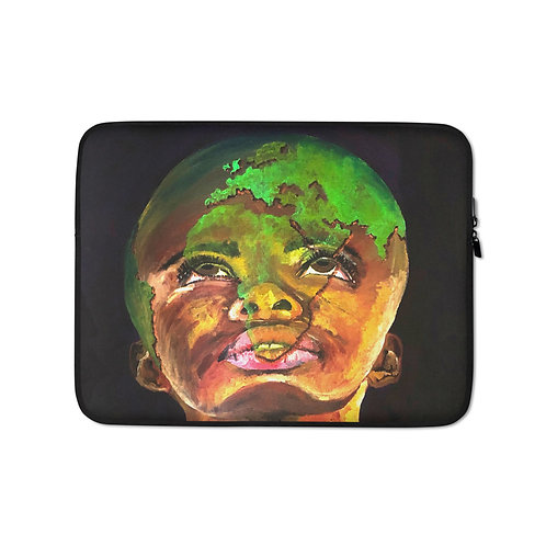 "Ghia Haddad ""The Long Game"" (Laptop Case)"
