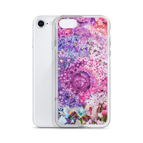 Rainbow in Bloom 3 (iPhone Case) by Rachel Newell