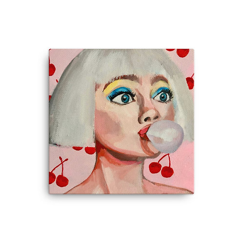 "Sabrina Cabada ""Bubblegum"" (Canvas Giclee)"