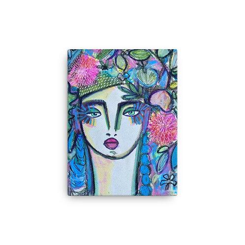 "Rosalina Bojadschijew ""Untitled"" (Canvas Giclee)"