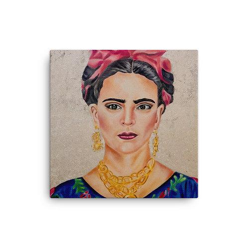 "Coco Martin ""Frida"" (16""x16"" Canvas Giclee)"