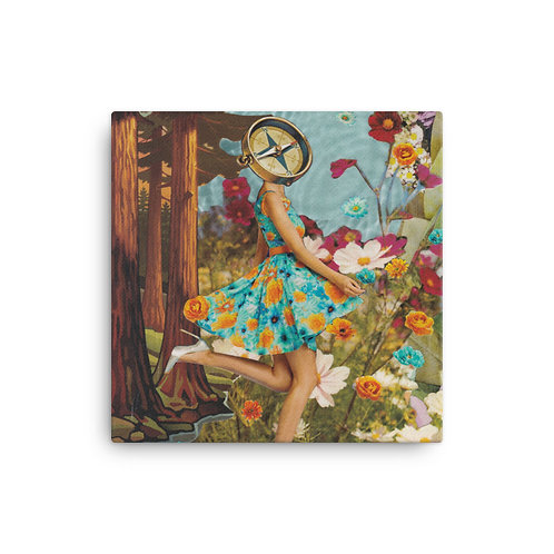 Inner Compass (Canvas Giclee) by Rachel Newell