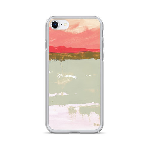"Angela Seear ""Pink Sky"" (iPhone Case)"