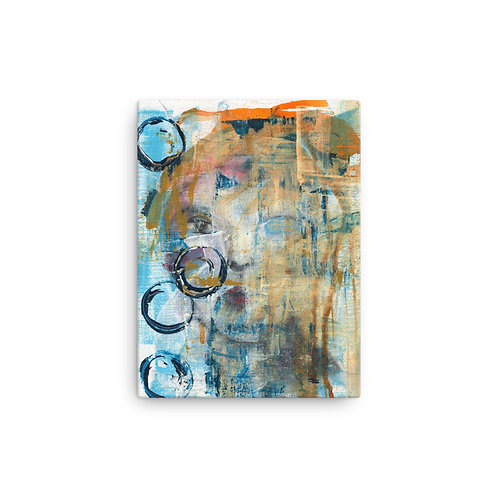 "Vicki Sullivan ""Dark Pebbles"" (Canvas Giclee)"