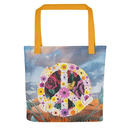 "Rachel Newell ""Where Peace Grows"" (Tote Bag)"