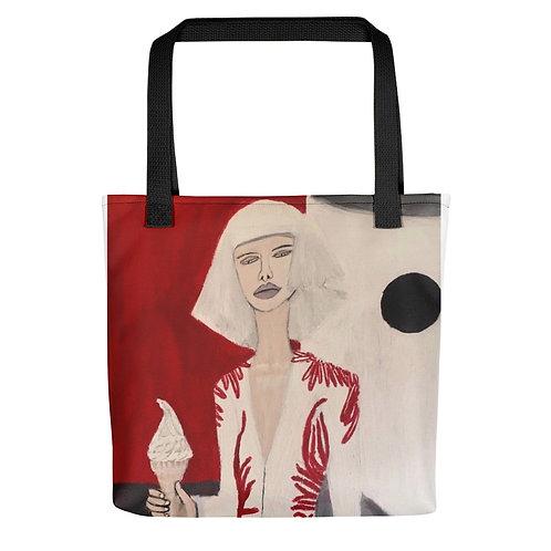 """Brittany Minnes """"Fashion Shoot"""" (Tote bag)"""