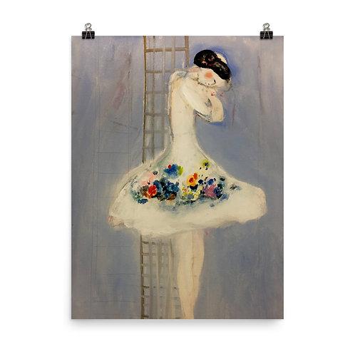 "Carmen Marin ""Ballerina Sleeping Vertically"""