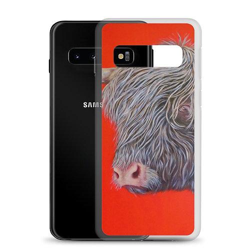 "Carol Greenwood ""Big Red Cow"" (Samsung Case)"