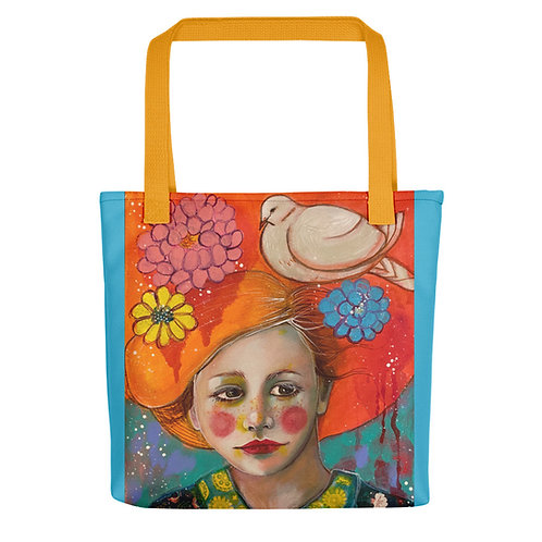 """Lola Burgos """"I Will Care for You"""" (Tote bag)"""