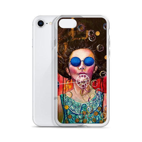 """Lola Burgos """"The Girl of the Invisible Pearls"""" (iPhone Case)"""