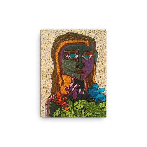 """Caribea (12""""x16"""" Canvas Giclee) by Sandra Perez-Ramos"""