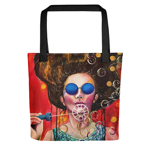 """Lola Burgos """"The Girls of the Invisible Pearls"""" (Tote bag)"""