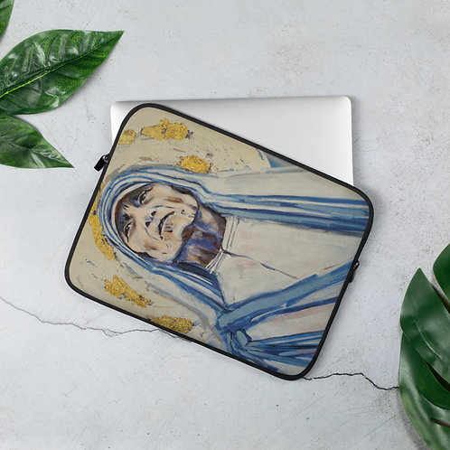 "Angie Meche Kilcullen ""Mother Teresa"" (Laptop Case)"