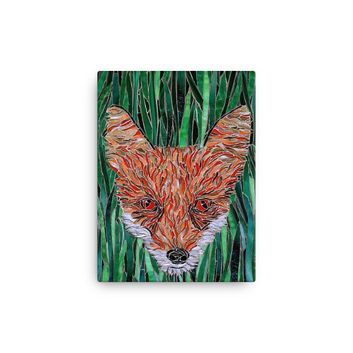 Foxy (Canvas Giclee) by Katie McMurry