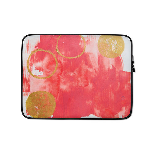 Moon Circle (Laptop Case) by Heidi Nielson