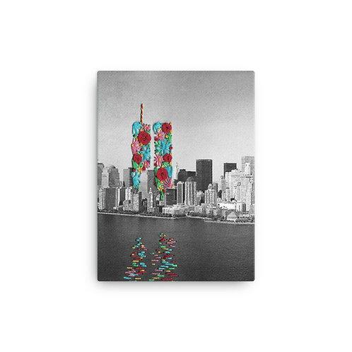 """Elise Benetreau """"9-11"""" (Canvas Giclee)"""