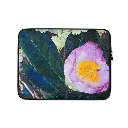 Camelia (Laptop Case) by Jennifer Lynn Beaudet