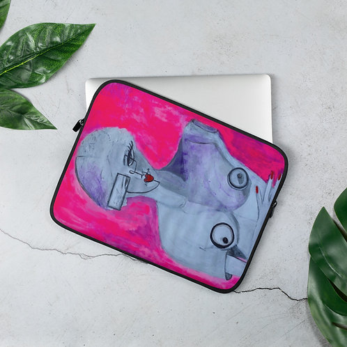 The Future is Now (Laptop Case) by Brittany Minnes