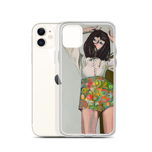 "Sabrina Cabada ""Psychedelic Groove"" (iPhone Case)"