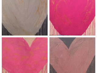 Drippy heART paintings