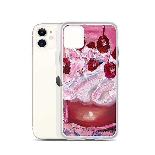 Cherry Cup (iPhone Case) by Kally Etchebarne
