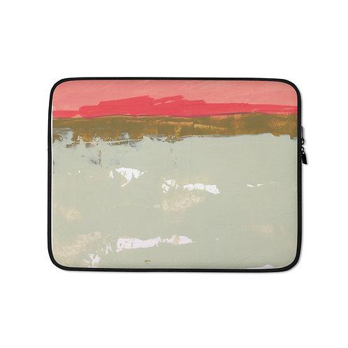 """Angela Seear """"Pink Sky"""" (Laptop Case)"""