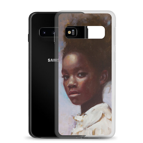 What are We Waiting For (Samsung Case) by Rosso Emerald Crimson