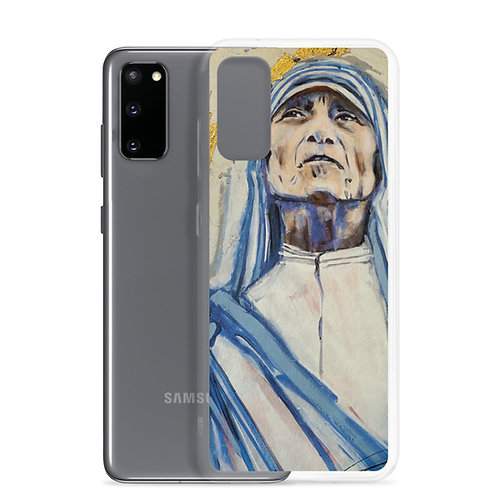 Mother Teresa (Samsung Case) by Angie Meche Kilcullen